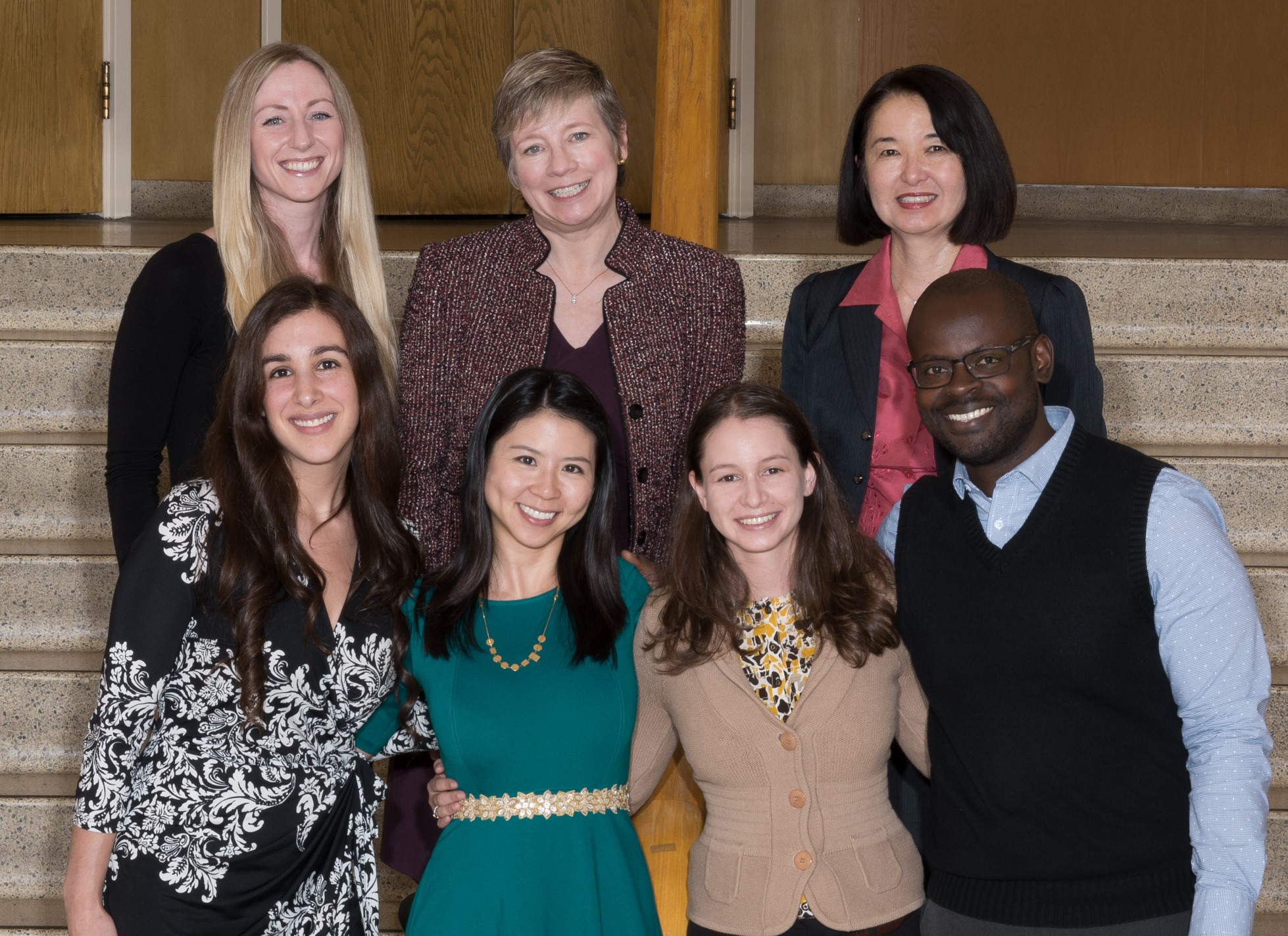 Picture of Medical Genetics trainees and leadership team